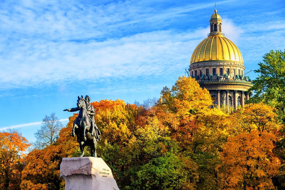 Санкт-Петербург осенью